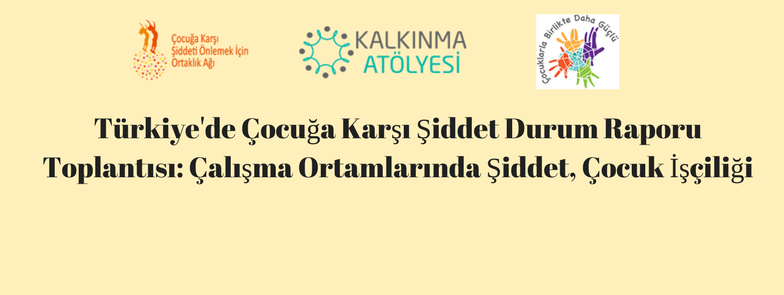 Türkiye'de Çocuğa Karşı Şiddet Durum Raporu Toplantısı: Çalışma Ortamlarında Şiddet, Çocuk İşçiliği